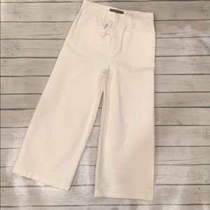NWT! Point Sur by J. Crew Cropped Wide Leg Pant 28